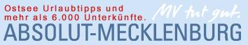 ABSOLUT-MECKLENBURG Schriftzug