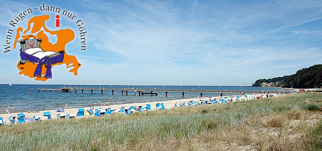 Ostseebad Göhren auf der Insel Rügen